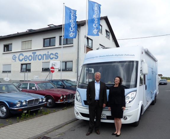 The German Government's Broadband Office visits CeoTronics AG